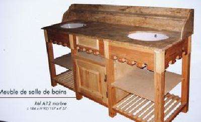 meuble salle de bain dessus marbre rose 13 tiroirs 6 tagres marbre 2m00x 925x060cm 1848 - Salle De Bain Marbre Rose